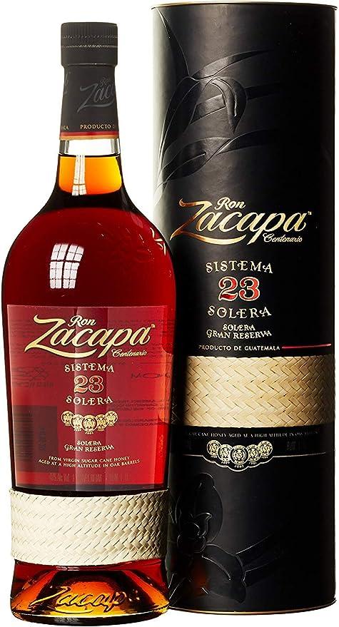 Zacapa Centenario 23 Ron - Botella de 1 Litro: Amazon.es: Alimentación y bebidas