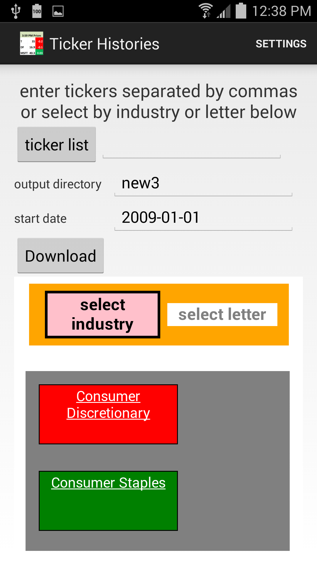 Amazon ticker histories appstore for android 000 biocorpaavc