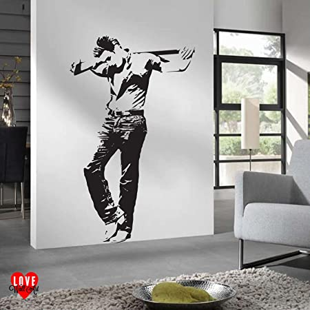James Dean wall art sticker life size crucifixion pose from the ...