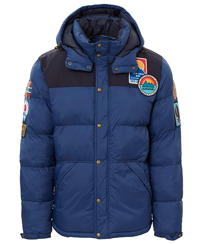 Napapijri Mens Quilted Artic 1 Jacket XL Medium Blue at Amazon Mens Clothing store: