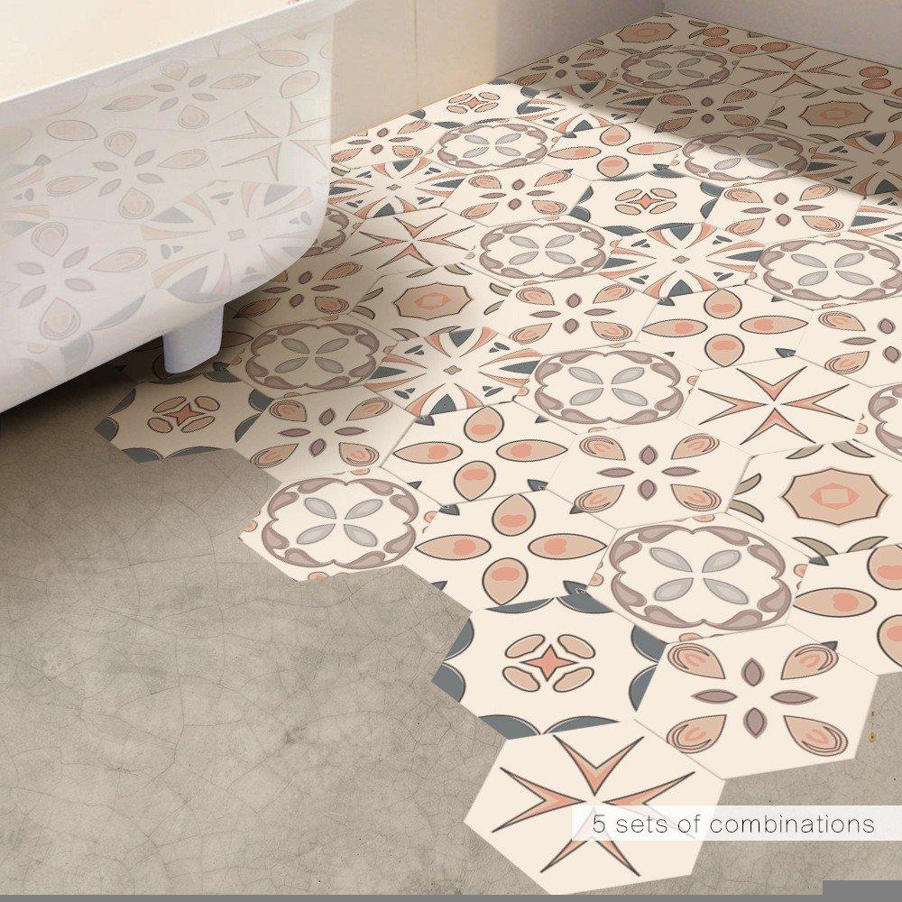 1 Set 10pcs Diy Kreativ Wandaufkleber Modern Hexagon Wandaufkleber