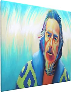 "Alan Watts Waves Art Home Bedroom Decor Wall Art Canvas Prints Artwork Painting Pictures 16""X16"""