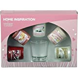 Official Yankee Candle Home Inspiration Gift set include 5Votives & Holder