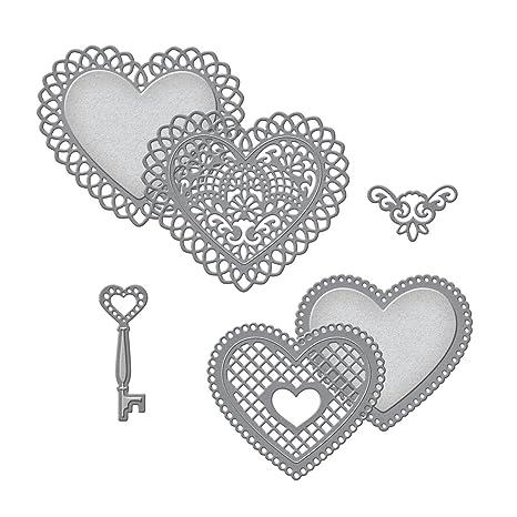 Spellbinders - Moldes de corazones