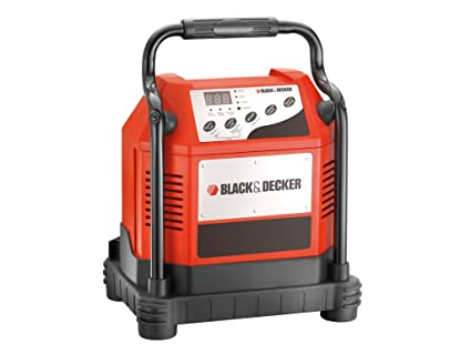 Black+Decker Auto cargador de batería 2/10/30/80 A: Amazon ...