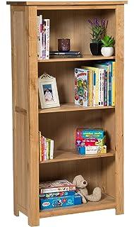 Brown Wenge Brown Ziggy open Bookcase Room Divider Shelf Shelving Display