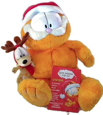 garfield 25th anniversary limited ed macys christmas plush - Christmas Plush Toys