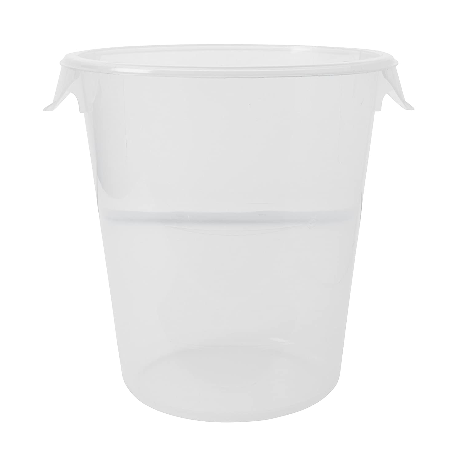 Rubbermaid Commercial Products FG572424CLR 8-Quart Round Storage Container