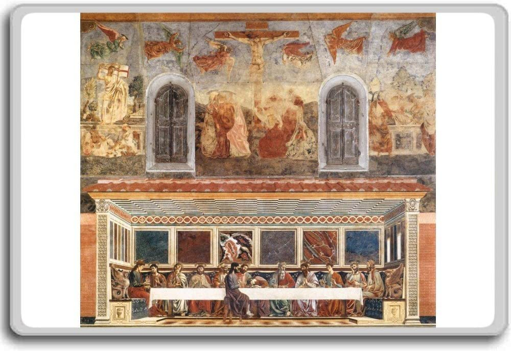 Andrea Del Castagno - Last Supper And Stories Of Christs Passion clasic art fridge magnet