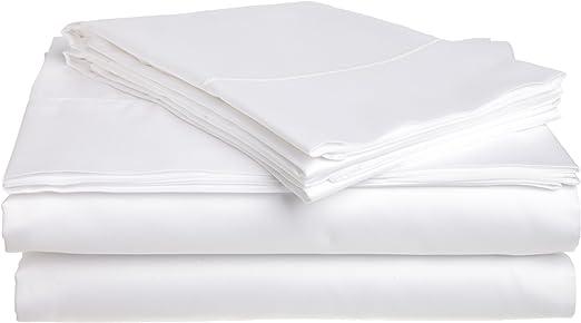 Tuscany - Juego de sábanas de satén de algodón Egipcio de 300 ...