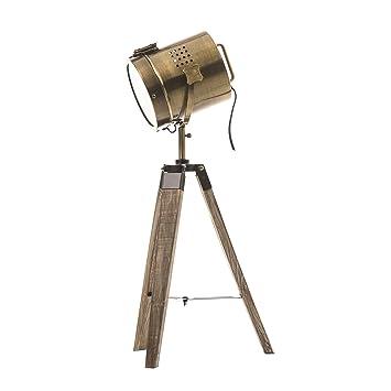 Lámpara proyector, diseño vintage y retro de metal tipo cobre y ...