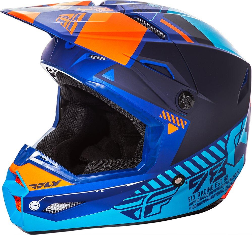 Matte Blue//Orange Small 73-8503S Fly Racing Unisex-Adult Full-face-Helmet-Style Elite