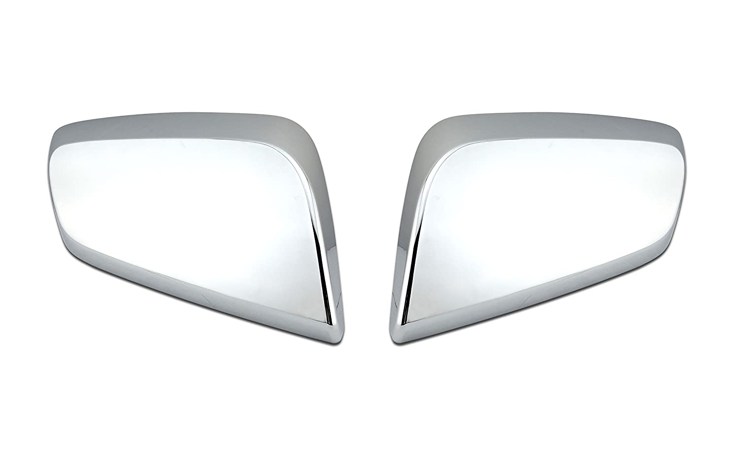 EZ Motoring Deluxe Chrome Mirror Cover Overlay Trim for 2014-2018 Chevy Impala