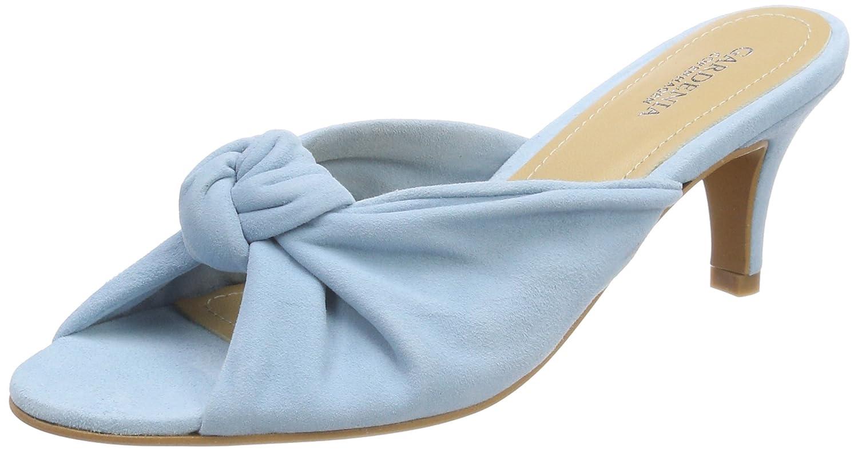 Gardenia Copenhagen Goprasa, Zapatos de Tacón con Punta Abierta para Mujer 39 EU