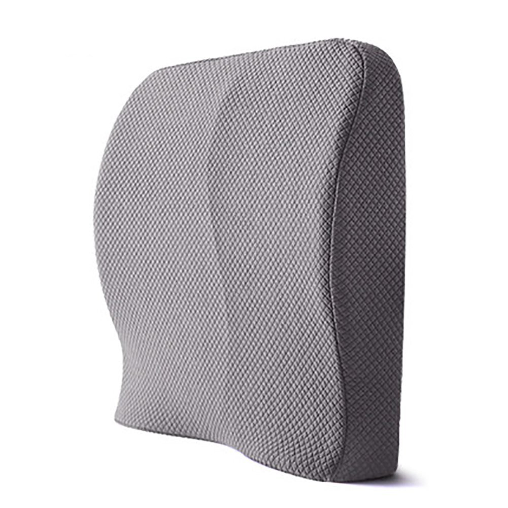 DADAO Back Cushion,Memory Foam Lumbar Support For Lower Back Pain Relief-G 39x39cm(15x15inch)
