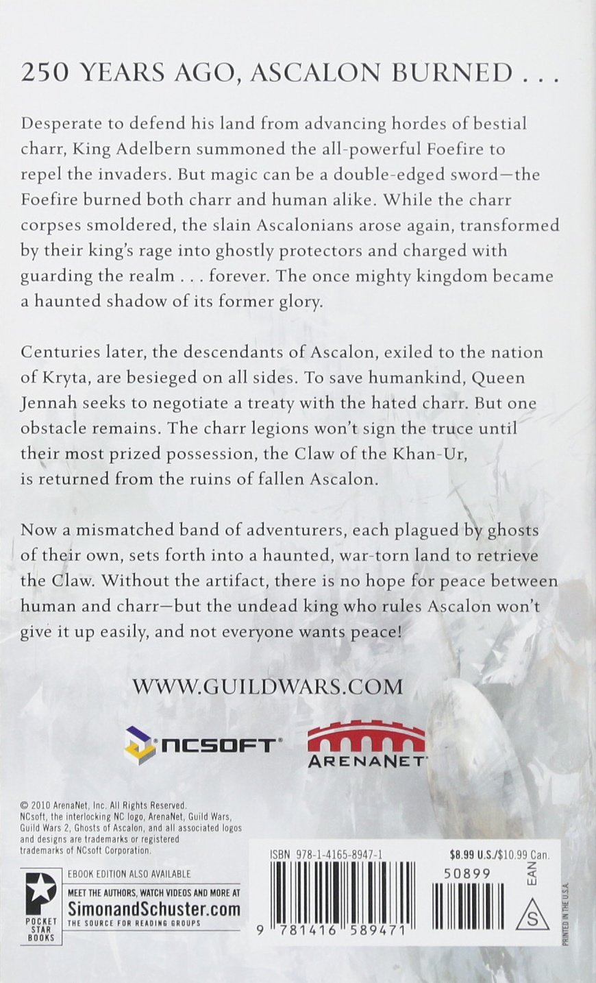 Guild Wars Ghosts Of Ascalon Ebook