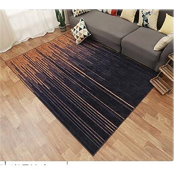 alfombra Rectangular Dormitorio Cama colchones completos casa Creativa Pelo Corto (Color : 1, Tamaño : 80 * 160cm): Amazon.es: Hogar