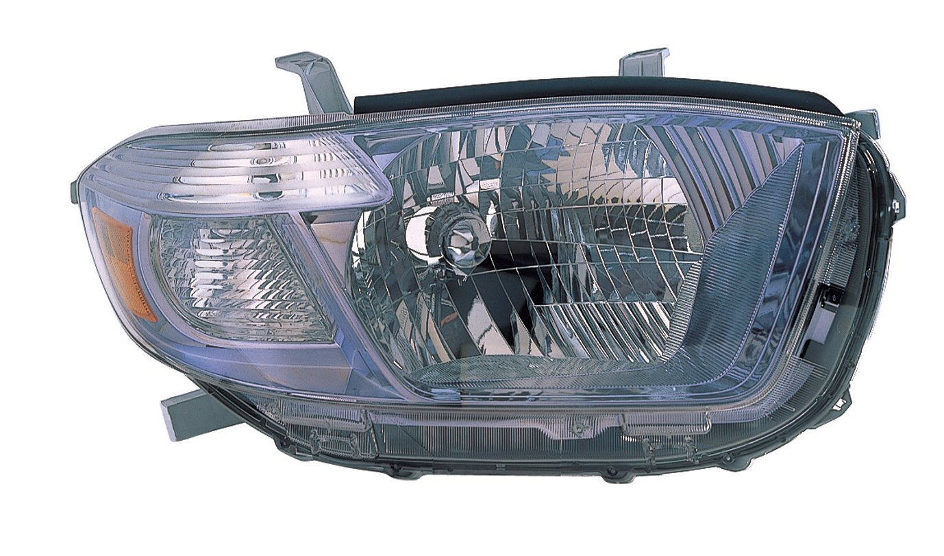 Depo 312-11A5R-UC3 Toyota Highlander Hybrid Passenger Side Headlamp Lens Housing