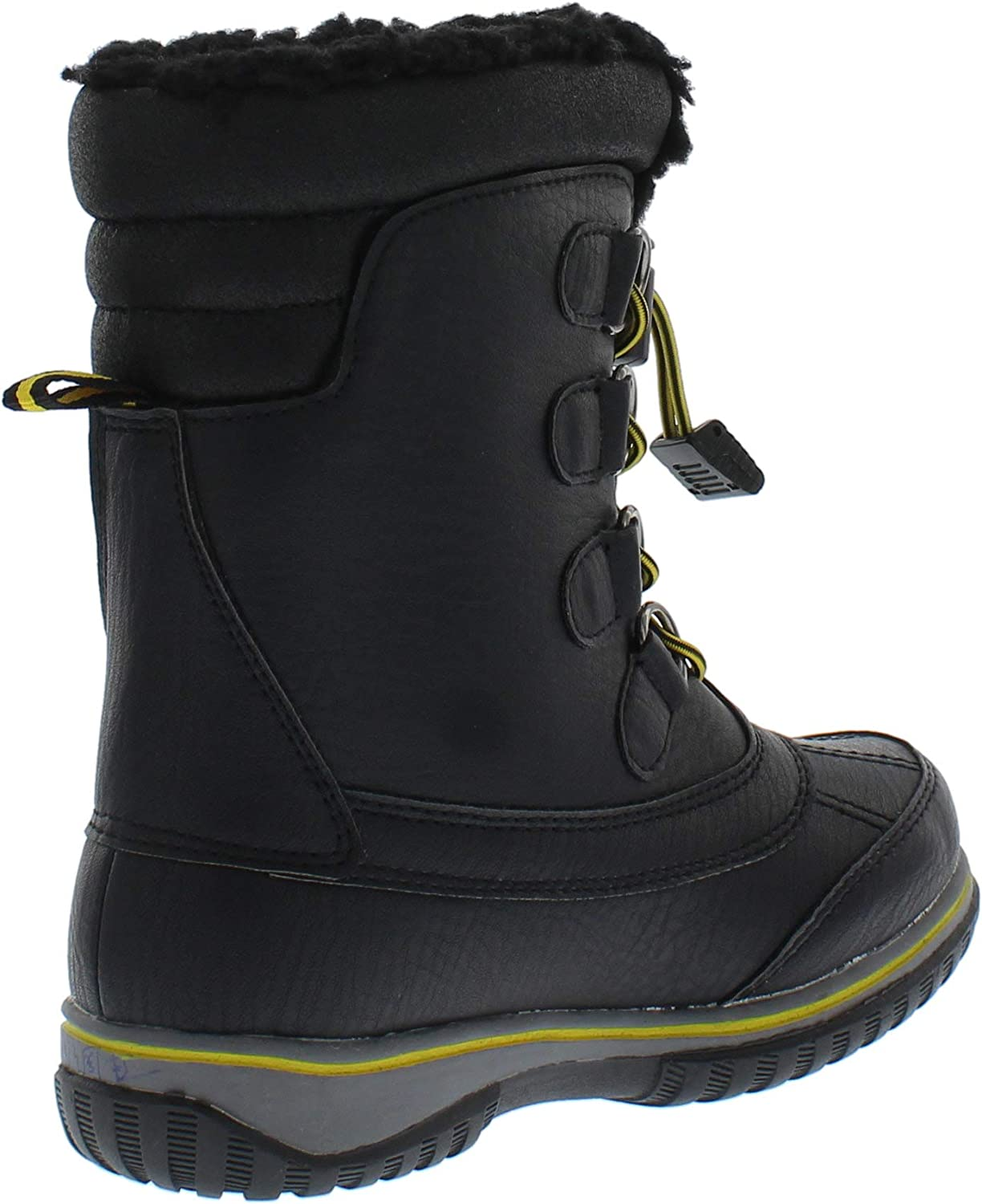 Weatherproof Kids Sleigh Waterproof Insulated Snow Boot for Boys and Girls