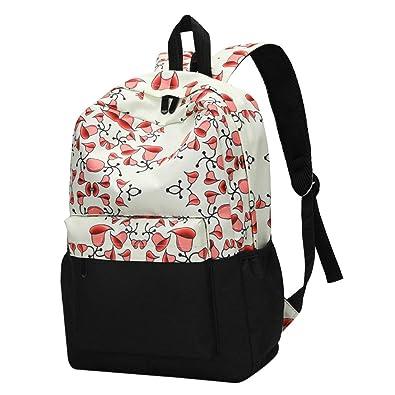 f09d42450df Girls Backpacks,Moonuy,Womens Fresh Style Floral PrinCasual Fashion Bucket  Bags Crossbody Shoulder Bag Travel Rucksack School Backpacks Cardbags Hand  bag ...