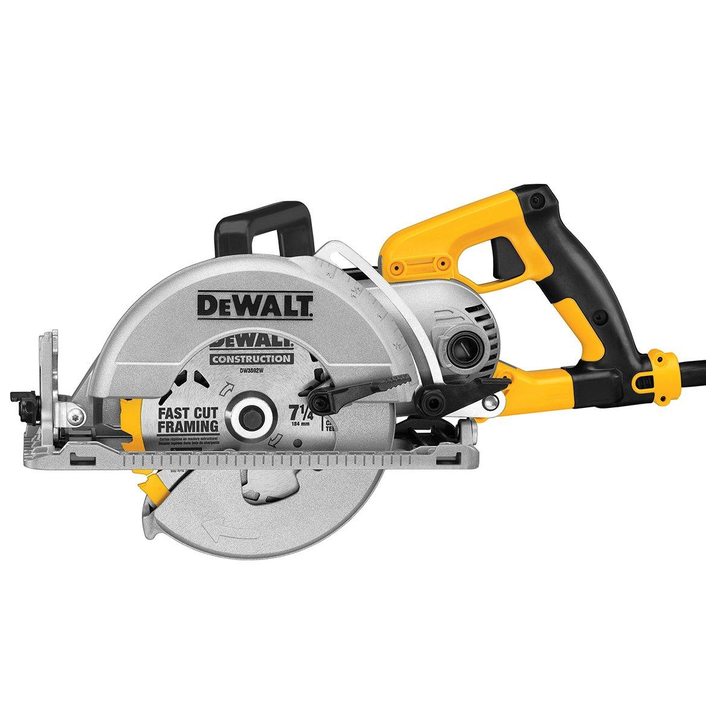 "DWS535B 7-1/4"", Worm Drive Circular Saw with Brake"