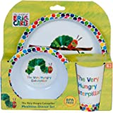 Eric Carle - Very Hungry Caterpillar 3-Piece Dinner SetMeal Time,24 x 15 x 10cm