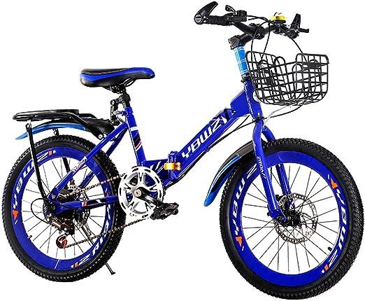 GRXXX Bicicleta para niños Velocidad de Bicicleta de montaña ...