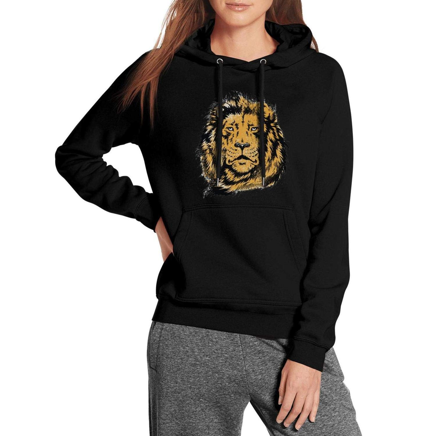 effdb856 Amazon.com: Lion of The Desert Men's Fleece Fashion Graphic Hoodies Unique  First Quality Pockets Cool Hoodies: Clothing