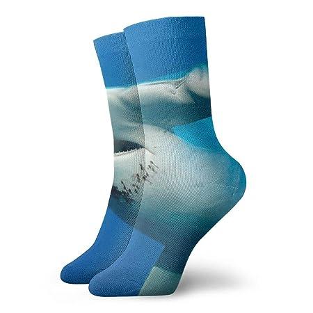 MSONNET Calcetines de Vestir para Hombre, diseño de tiburón, Color ...