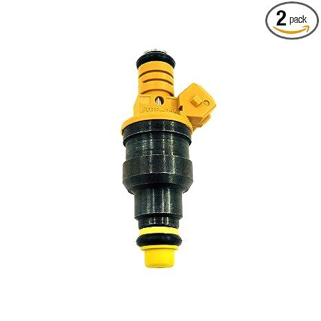 Amazon com: 2Pcs Fuel Injectors Oil Nozzle 0280150943 Fit