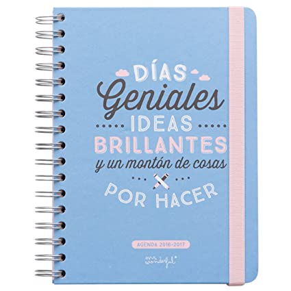 Agenda mr wonderful 2017
