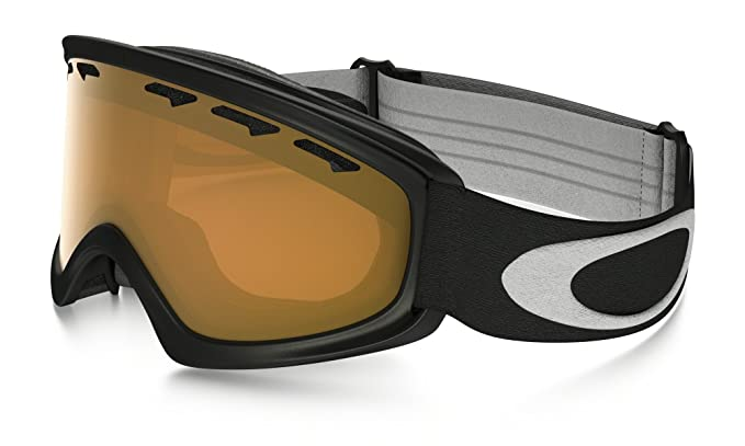 6faa4a66b9 Amazon.com   Oakley O Frame XS Youth Snow Goggles Matte Black with  Persimmon Lens   Sports   Outdoors