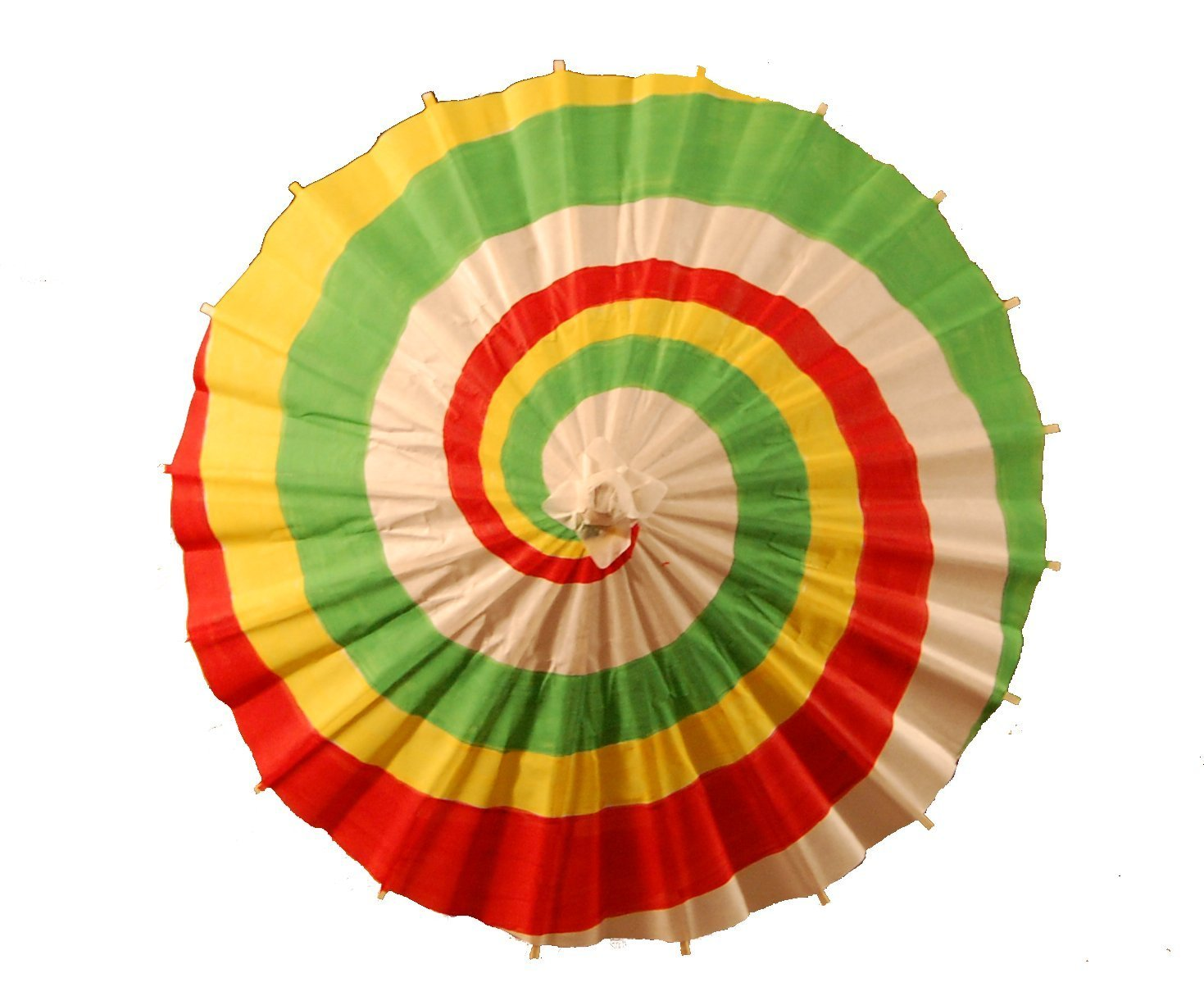 Miniature Firefly Kaylee's Paper Parasol Hand Painted Tri-Colored Costume Cosplay Replica