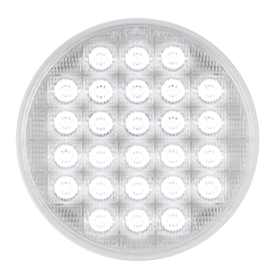 "Grand General 74894 White/Clear 4"" Smart Dynamic 26-LED Sequential Sealed Light: Automotive"