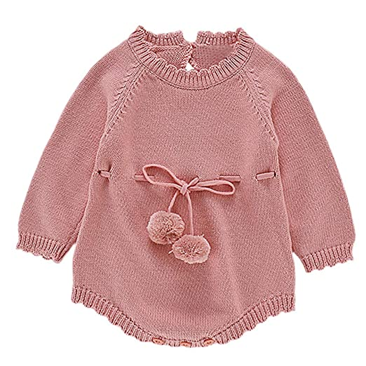 83e3a7818dc Amazon.com  KONFA Toddler Infant Baby Girls Boys Autumn Winter ...