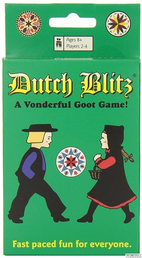 3 x familia tarjeta juegos Dutch Blitz: Amazon.es: Hogar