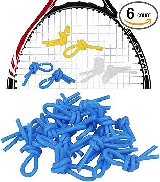 2Pcs Tennis Squash Racket Vibration Dampeners Shock Absorber Damper Blue