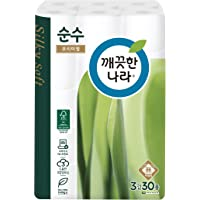 Kleannara Soonsoo Premium Toilet Roll Tissue- 3ply 30m (Pack of 30)