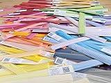30 colors x 100 strips per pack, 3000 Metallic