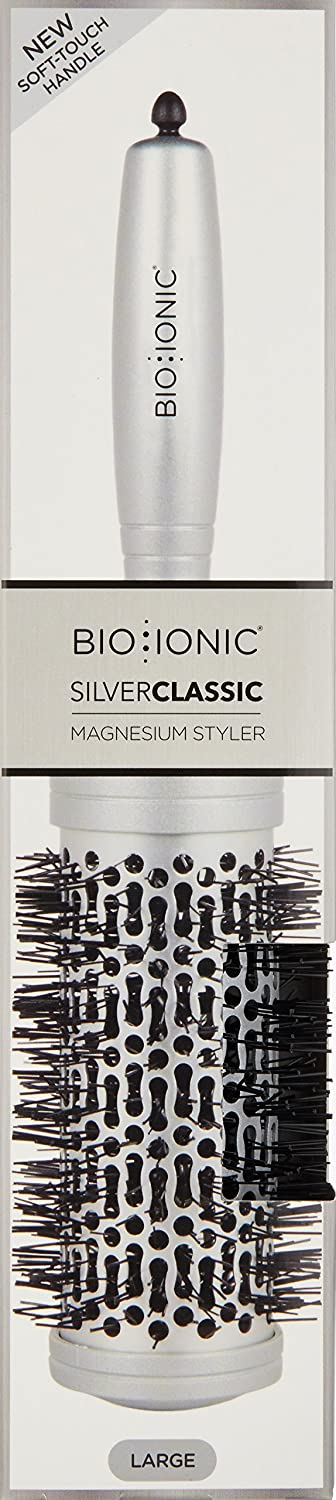 Amazon.com: BIO IONIC Silver Classic Nanoionic Conditioning Brush, Medium, 0.2 lb.: Luxury Beauty
