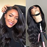 360 Body Wave Lace Frontal Wigs Human Hair Brazilian Black Women 150% Density Pre Plucked With Baby Hair 100…