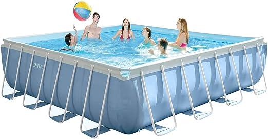 Amazon.com: Intex 14 pies X 42 inches prisma marco piscina ...