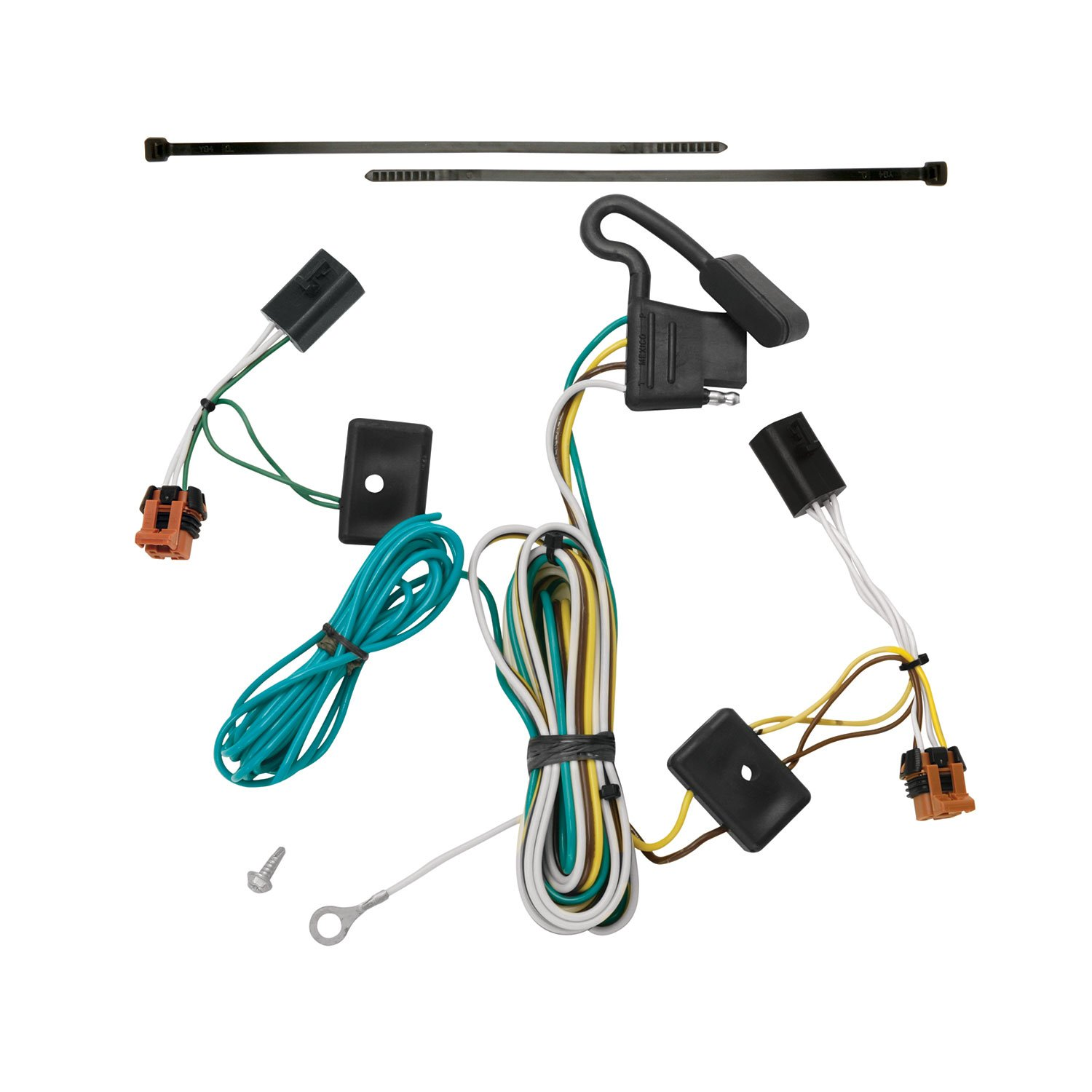 71chR nJvBL._SL1500_ amazon com tekonsha 118451 t one connector assembly automotive gmc acadia trailer wiring harness location at soozxer.org