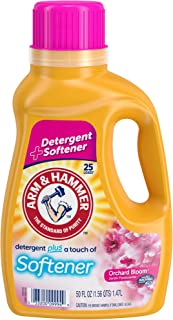 product image for Arm & Hammer Plus Softener Orchard Bloom Liquid Laundry Detergent, 25 loads