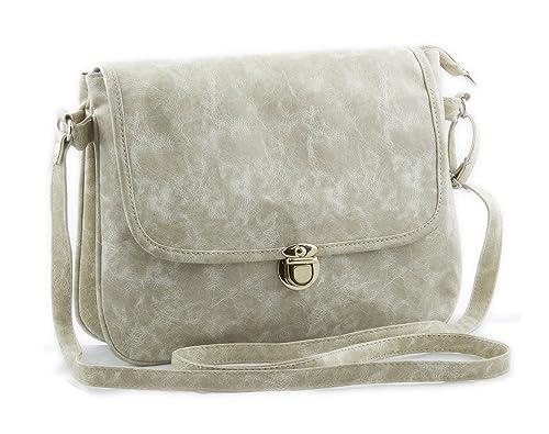 5302359306 Voaka Women s Pu Leather Designer Sling Bag - White  Amazon.in ...