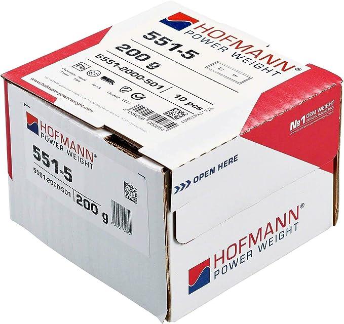 10x Auswuchtgewicht Lkw Felgen Typ 551 200 G Hofmann Power Weight Klebegewichte Wuchtgewichte Man Volvo Auto