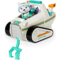 Paw Patrol Everest's Rescue Snowmobile, Vehicle and Figure & Rocky Action Figure
