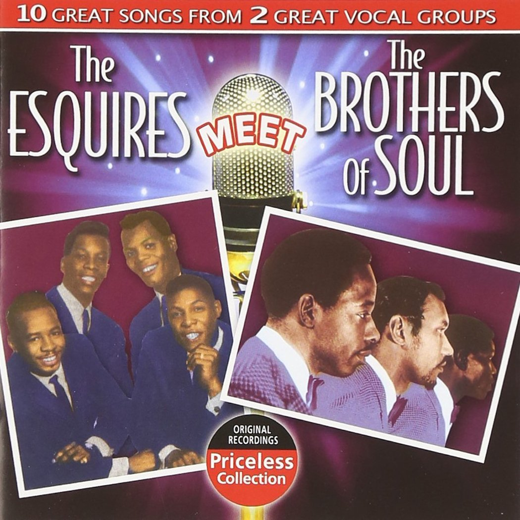 CD : Brothers of Soul - The Esquires Meet The Brothers Of Soul (CD)