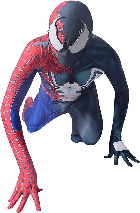 Amazon.com: Halloween Half Raimi Half Venom Spider Cosplay ...