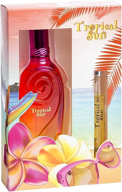 Real Time Caja de Regalo para Mujer Eau de Perfume Tropical Sun ...